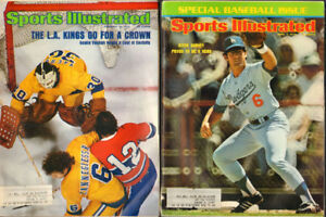 1975 Sports Illustrated Collection, 51 diff. Issues, $4 and up
