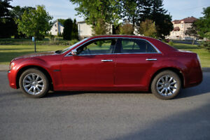 Almost new 2011 Chrysler 300 C with 54200 km only