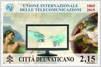 Francobolli Vaticano 2015 -150° Unione Internazionale Delle Telecomunicazioni - union - ebay.it