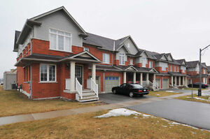 5 year old town house in well demand ajax area available in Nov