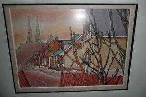 Mireault artiste peintre  , Douce Neige à Varennes