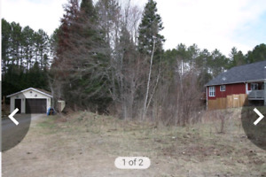 Vacant Land building lot chalk river, Ontario 75ft frontage by 2