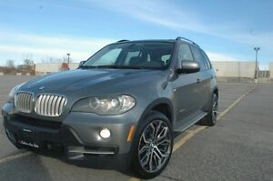 2009  BMW X5 35D XDRIVE NAVI/BACKUP CAMERA/PANROMIC ROOF 7 PASS