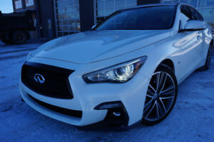 INFINITI Q50S 2017 3.0L NAV CAMERA LIKE NEW! 476$/MOIS 28995$