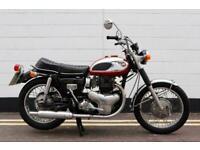 1969 Kawasaki W1S 650cc - In Very Rare 100% Original Condition