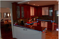 Complete working kitchen with appliances