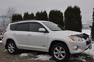2011 Toyota V6 RAV4 Ltd - Leather