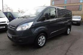 2013 FORD TRANSIT CUSTOM 290/125 LIMITED SWB IN MIDNIGHT SKY BLUE WITH 58.000 MI
