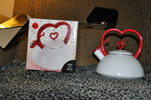 Copco Heart Kettle-New and Super Cute