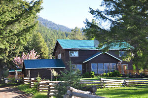 Unique Chilcotin Mountain Recreation Ranch, Gold Bridge