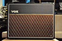 VOX AC30 2X12 guitar amp  2 years old