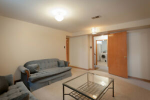 Unfurnished Basement Suite Includes Utilities