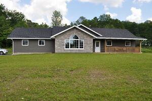 New home north of Marmora ON