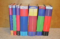 Complete Harry Potter series, all books hard cover
