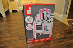 Janod Mademoiselle Maxi Cooker Floor Puzzles, Cooking Toy