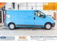 2012 12 NISSAN PRIMASTAR 2.0 DCI SE SHR 1D 115 BHP DIESEL EX BRITISH GAS