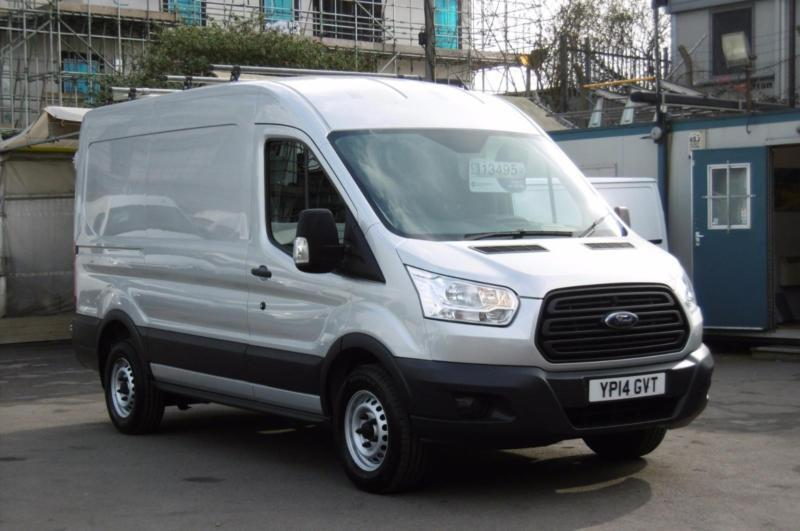 2014 ford transit 310 155 l2h2 mwb diesel van in silver with only miles a in kingston. Black Bedroom Furniture Sets. Home Design Ideas