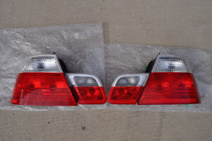 BMW E46 (3-Series) coupe tail lights (OEM)