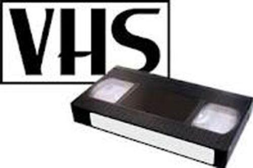 VHS-VHS-C 8-MM HI-8 TAPE  TO FILE FORMAT   /Copy Service 3 TAPE MINIMUM