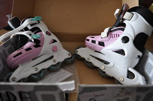 GIRLS ROLLER BLADES - ADJUSTABLE - size 12Y - 2