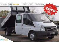 Ford Transit ONE STOP ALLOY TIPPER 350 LWB DOUBLE CAB