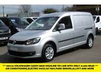2014 VOLKSWAGEN CADDY MAXI C20 TDI HIGHLINE IN SILVER WITH ONLY 41.000 MILES,AIR