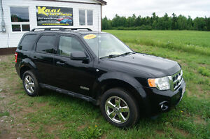 2008 Ford Escape LOADED AUTO SUV, Crossover limited leather