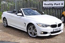 2015 BMW 4 Series 3.0 435d M Sport Auto xDrive 2dr