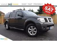 Nissan Navara AUTO SAT NAV AIR CON LEATHER SEATS TRUCKMAN TOP AVENTURA DCI 4X4 S