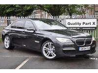 2015 BMW 7 Series 3.0 730Ld M Sport Exclusive 4dr (start/stop)