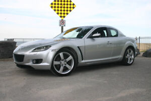 RX-8  MAZDA  GT  Coupe  6 Speed  ONLY 103000 KM