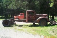 WANTED 1947 Diamond T Cab and Front Clip WANTED