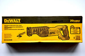 DeWALT 20V Variable Speed Reciprocating Saw / Sawzall TOOL ONLY