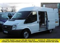 2012 FORD TRANSIT 280/100 SWB MEDIUM ROOF DIESEL VAN WITH ONLY 66.000 MILES,6 SP