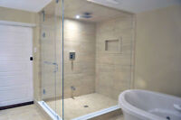 *** Custom Glass Doors, Showers, Partitions Installations ***
