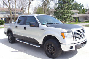 2011 Ford F-150 SuperCrew xtr xlt Pickup Truck