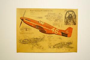 Vintage Style Kraft Paper Poster