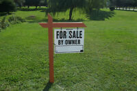 Buy a FOR SALE BY OWNER SIGN & POST