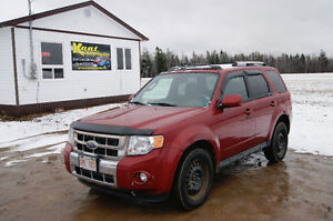 2009 Ford Escape Limited 4x4 4wd