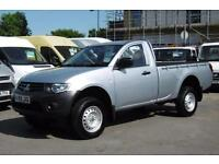 2014 MITSUBISHI L200 DI-D 4X4 4LIFE SINGLE CAB PICK UP WITH ONLY 29.000 MILES P