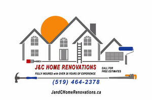 NEED SOME HOME RENOVATIONS DONE! LOOK NO FURTHER!