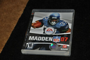 Madden 07 for PS3