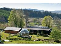 Paid Volunteer for ecoYoga Centre Scotland. Cleaning, organising & helping.