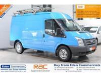 2013 13 FORD TRANSIT 2.2 330 1D 124 BHP DIESEL PANEL VAN EX BRITISH GAS
