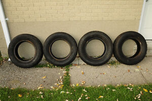 4 Uniroyal Tigerpaw Ice and Snow Tires