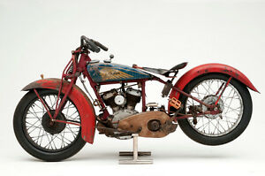 Wanted 1932-41 Indian junior scout pony 30.50 parts or bikes Sarnia Sarnia Area image 3