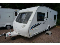 2009 STERLING EUROPA 495 4 BERTH FIXED BED CARAVAN - MOTOR MOVER - SUPERB!