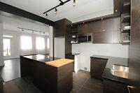 Condo sur 2 niveaux avec cour et terrasse privée
