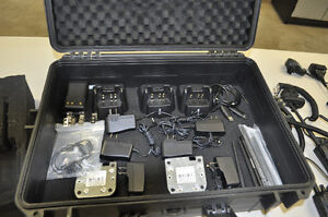 7 VX FM radios with mics, and accessories Prince George British Columbia image 3