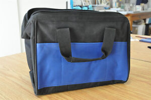 Carry all bag zip closure